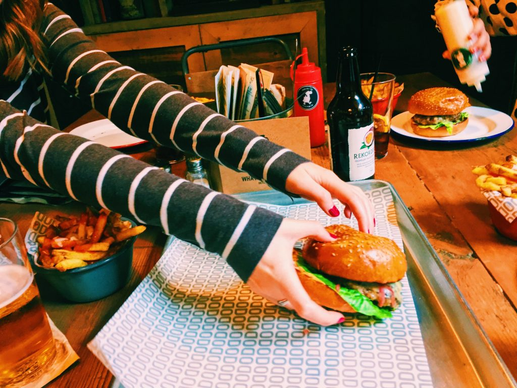 Grab your own burgers at The Bottle of Sauce Cheltenham National Dish