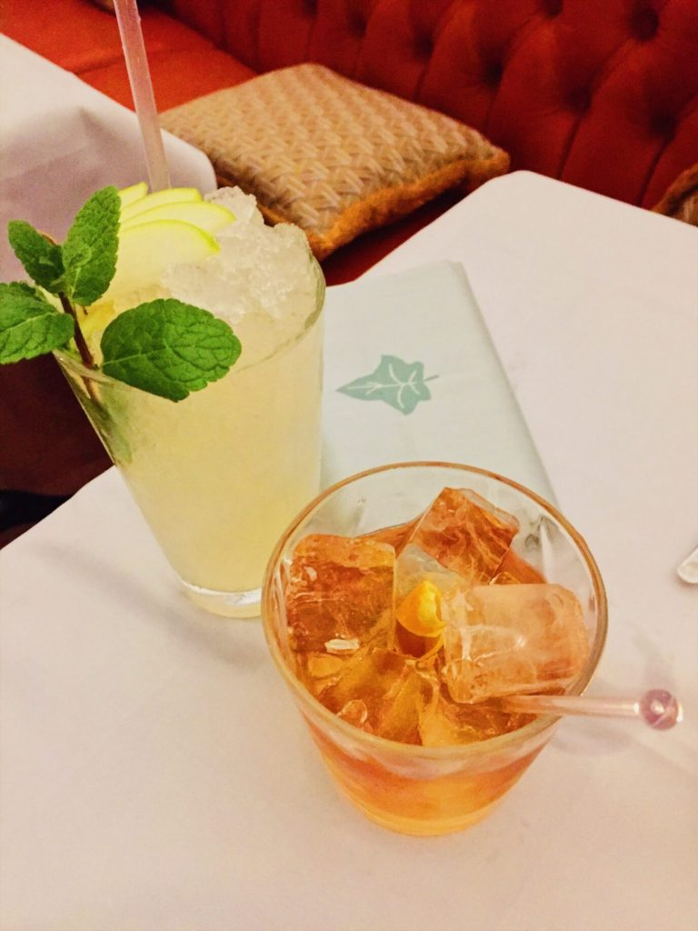 Pitsville Collins and a Buttered Manhattan at The Ivy Cheltenham   Restaurant Review